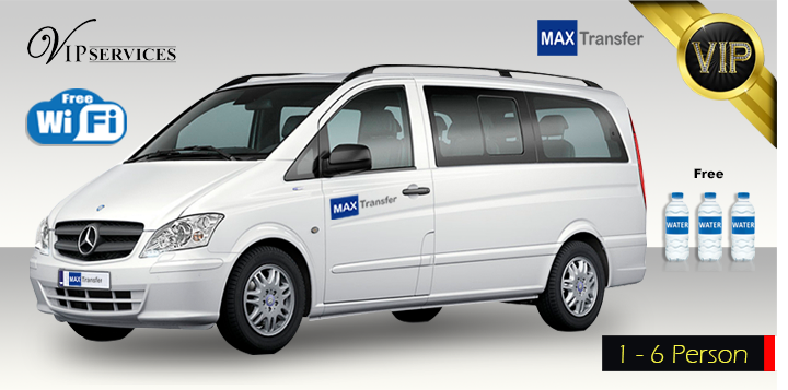 Mercedes Vito – PRIVATE TRANSFER (1-6 person)
