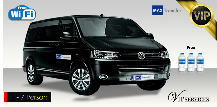 Volkswagen Caravelle – PRIVATE TRANSFER (1-7 person)